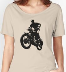 Jump in Motorbike Women's Relaxed Fit T-Shirt