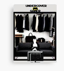 Undercover Gamer Canvas Print