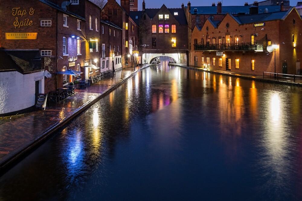 Birmingham Canal by Dekkoboyo