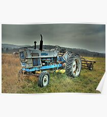 Ford Tractor Poster