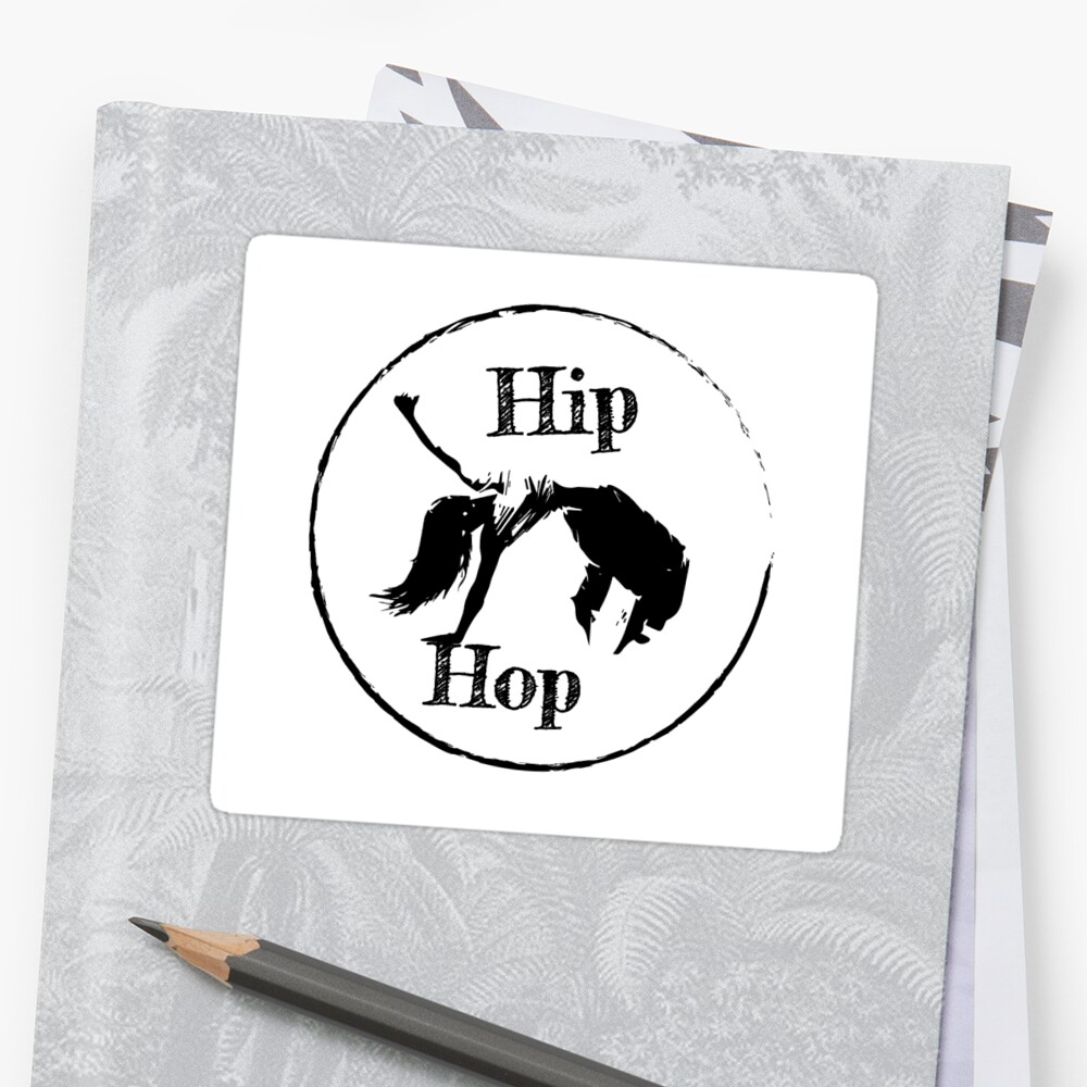 Hip Hop - Designed by Jamie by sealedstickers