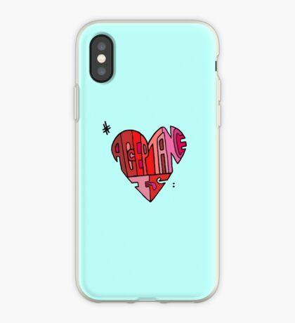 #AcceptanceIs - Heart iPhone Case