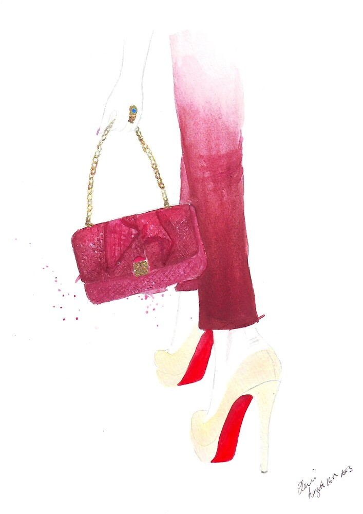 The Orchid Bag by Eleni Fall into London