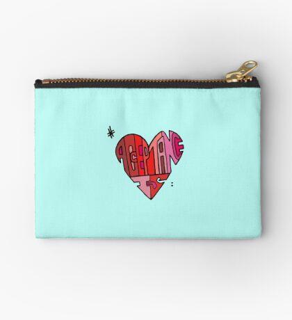 #AcceptanceIs - Heart Studio Pouch