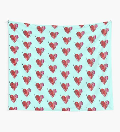 #AcceptanceIs - Heart Wall Tapestry