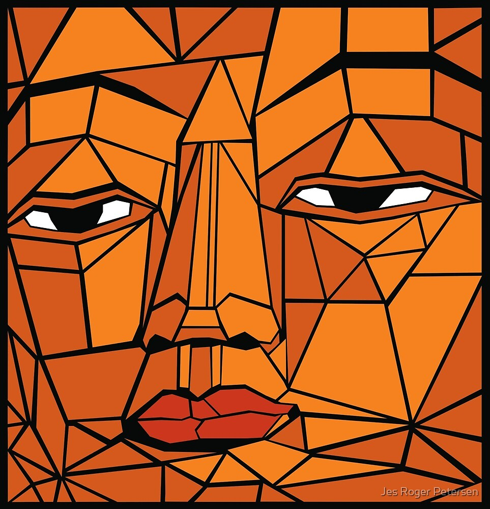 Face of Buddha by Jes Roger Petersen