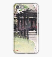 Maxell's Cherry Gardens. Telford, Shropshire, England iPhone Case/Skin
