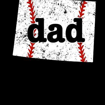 Softball Dad Shirt Wyoming Proud Baseball Dad Shirt Gift by shoppzee