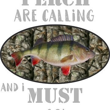 Funny Sport Jumbo Perch Fishing by customgifts