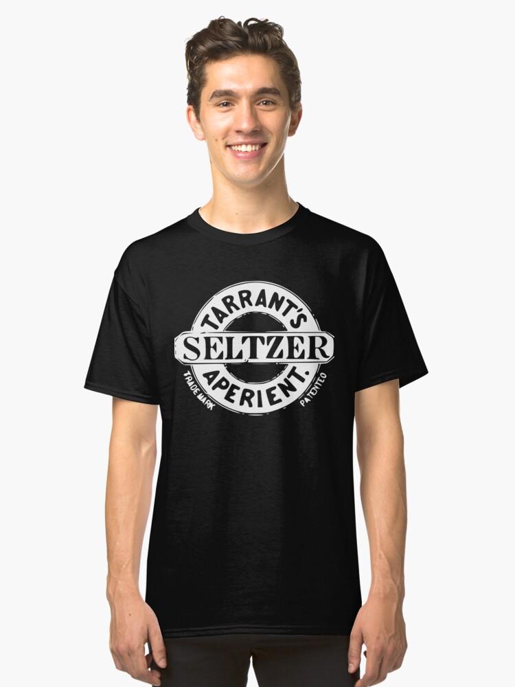Tarrant's Seltzer Aperient - Vintage Quack Medicine Logo Classic T-Shirt Front