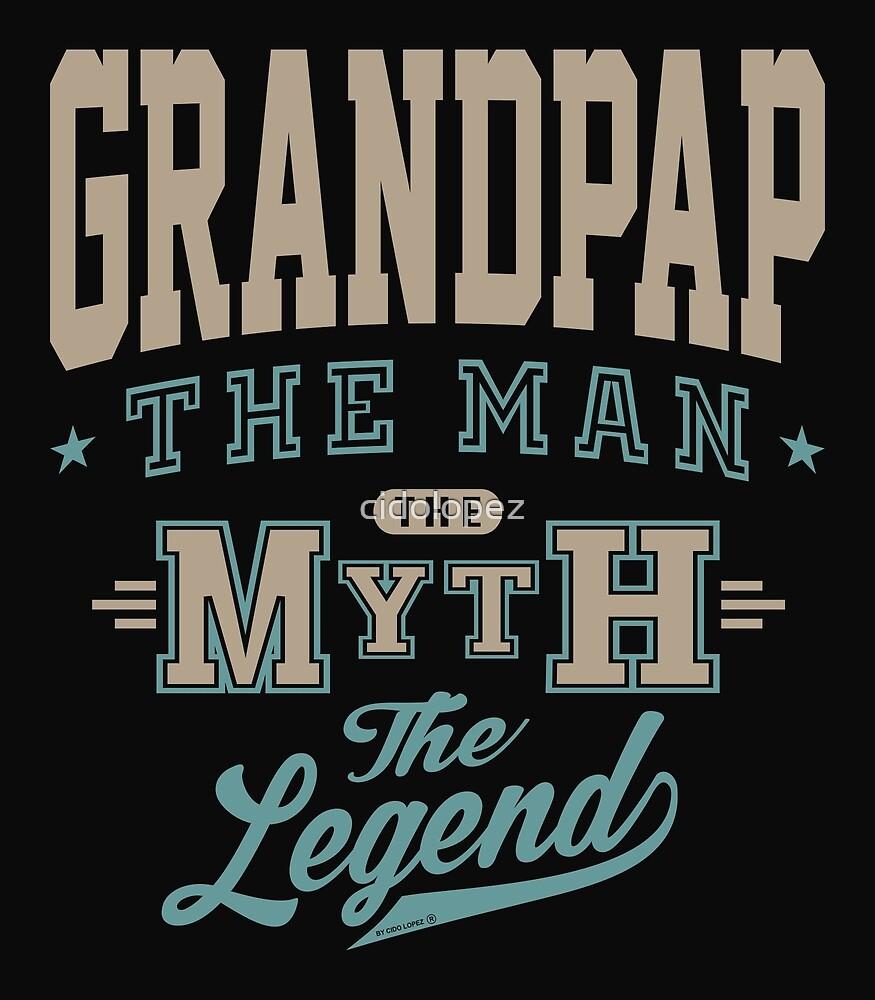 Grandpap The Legend by cidolopez