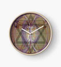 davinci vitruvian Clock