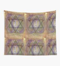 davinci vitruvian Wall Tapestry