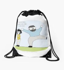 When You Dance You Dance Like A Pro - Have Mercy On Me Drawstring Bag