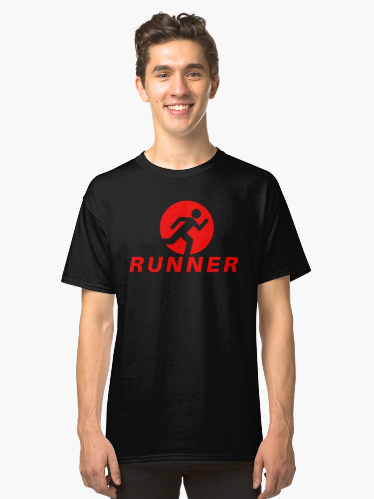 Runners Love to Run - (Design Day 91) Classic T-Shirt Front