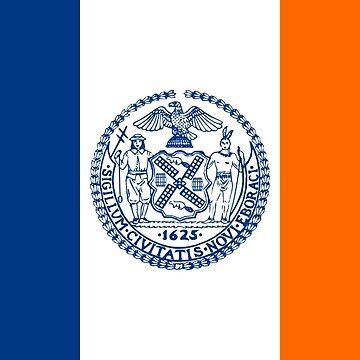 Flag of New York City  by abbeyz71