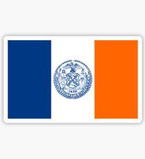 Flag of New York City  Sticker