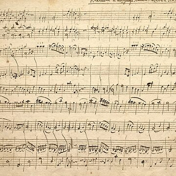 Wolfgang Amadeus Mozart Sheet Music by manoian