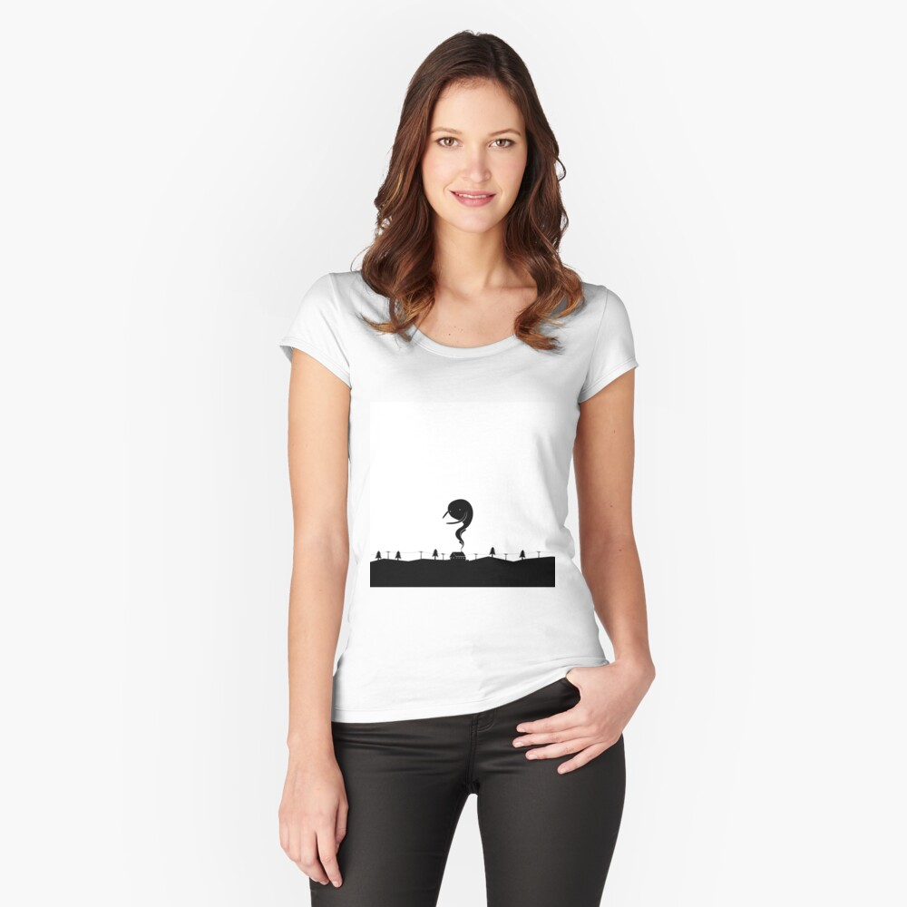 Chimney's Friend Women's Fitted Scoop T-Shirt Front