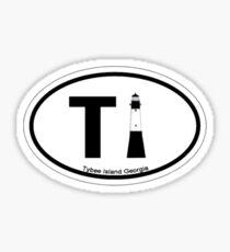 Tybee Island - Georgia. Sticker