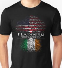 Flannery - American Grown with Irish Roots T-Shirt