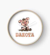 Dakota Piggy Clock