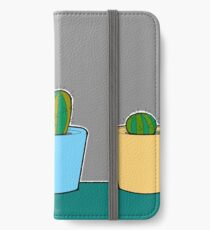 Three Little Cactus iPhone Wallet/Case/Skin