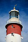 Lighthouse Detail: Smeaton's Tower Plymouth Hoe UK by DonDavisUK