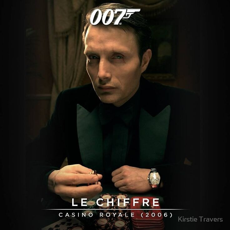 Mads Mikkelsen - Le Chiffre by Kirstie Travers