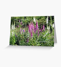All About Flowers Greeting Card