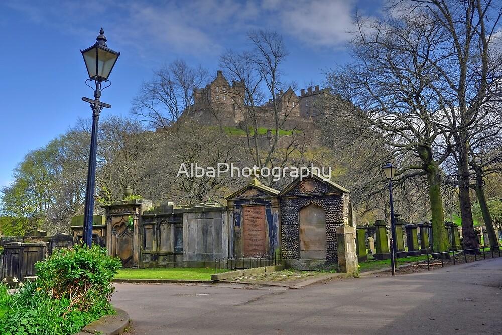 Edinburgh Castle, Scotland  by AlbaPhotography