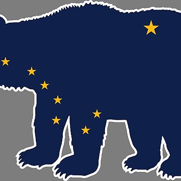 Alaska Bear Flag by richdelux