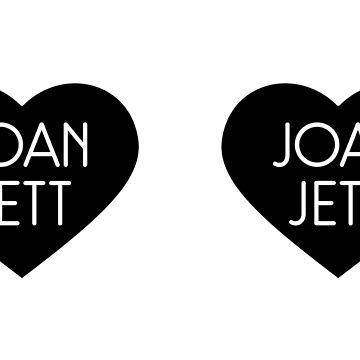 Joan Jett by doom-and-gloom
