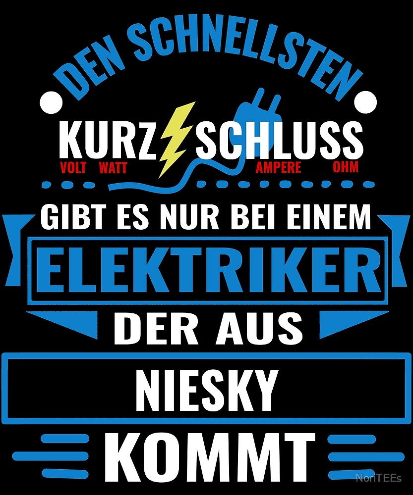 NIESKY - We have the best electricians, no one gets it that fast. by NoriTEEs