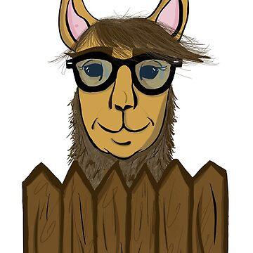 Tim the tool-llama Taylor by KWhaleBone