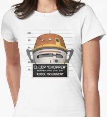 Rebel Droid Women's Fitted T-Shirt