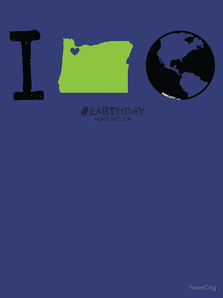 I Love The Earth (Portland) by SeenCity