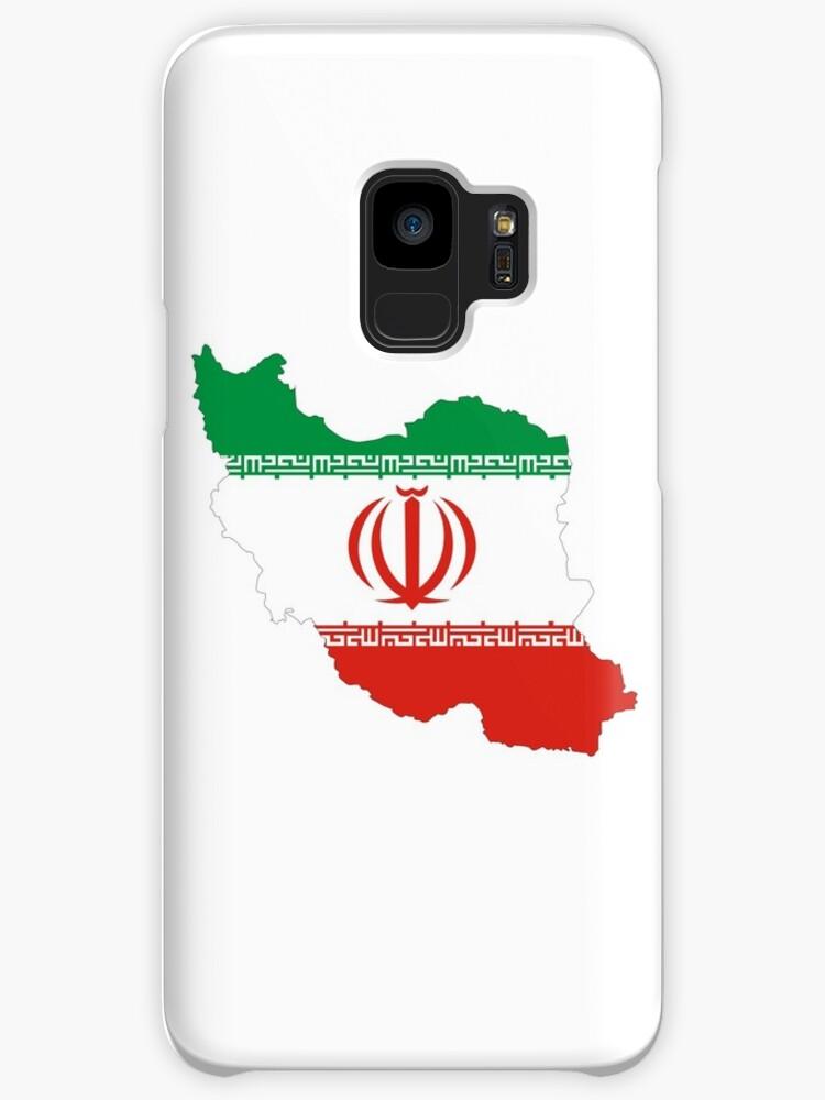 iran flag map by tony4urban