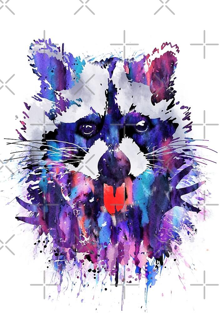 Raccoon by Rosaliartbook
