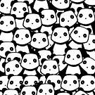 Panda Crowd by pda1986