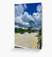 Singapore Intersection Greeting Card