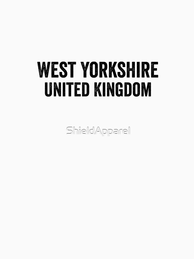 United Kingdom, West Yorkshire by ShieldApparel