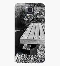 Bench Seat By The Tracks Case/Skin for Samsung Galaxy