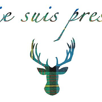 Je Suis Prest Outlander Inspired by Carlynn