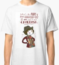 Fourth Doctor Quote Classic T-Shirt