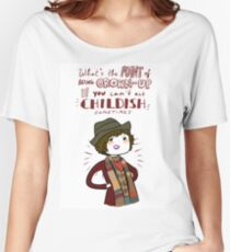 Fourth Doctor Quote Women's Relaxed Fit T-Shirt