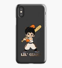 Lil' Giants sticker iPhone Case