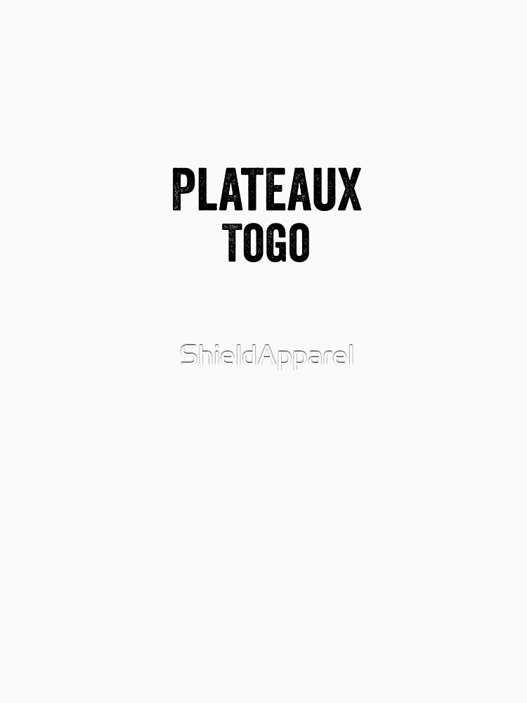 Togo, Plateaux by ShieldApparel