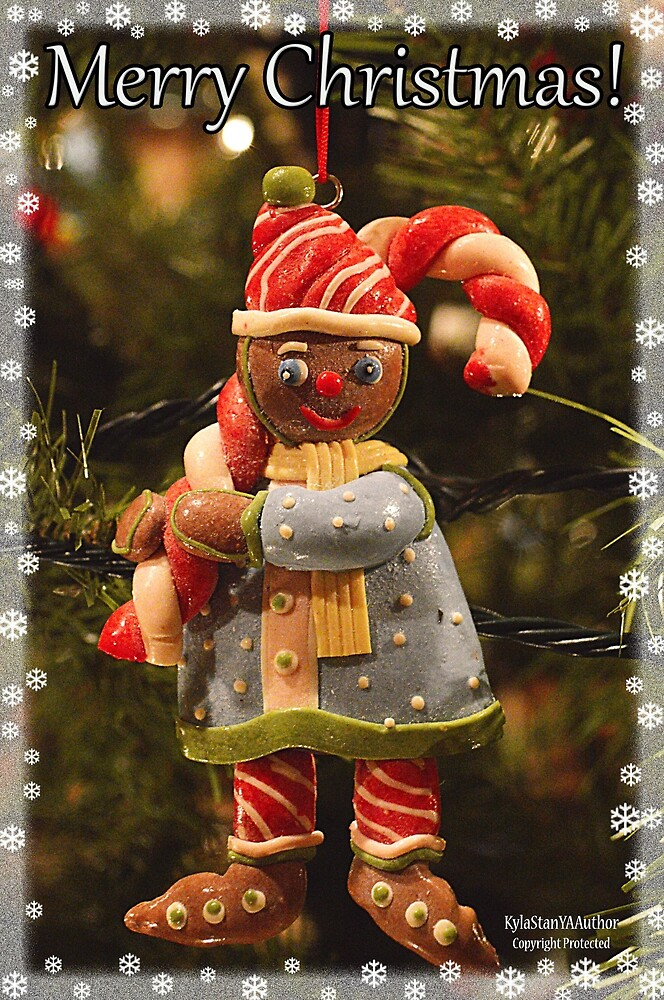 Gingerbread Man With Candy by KylaStanAuthor