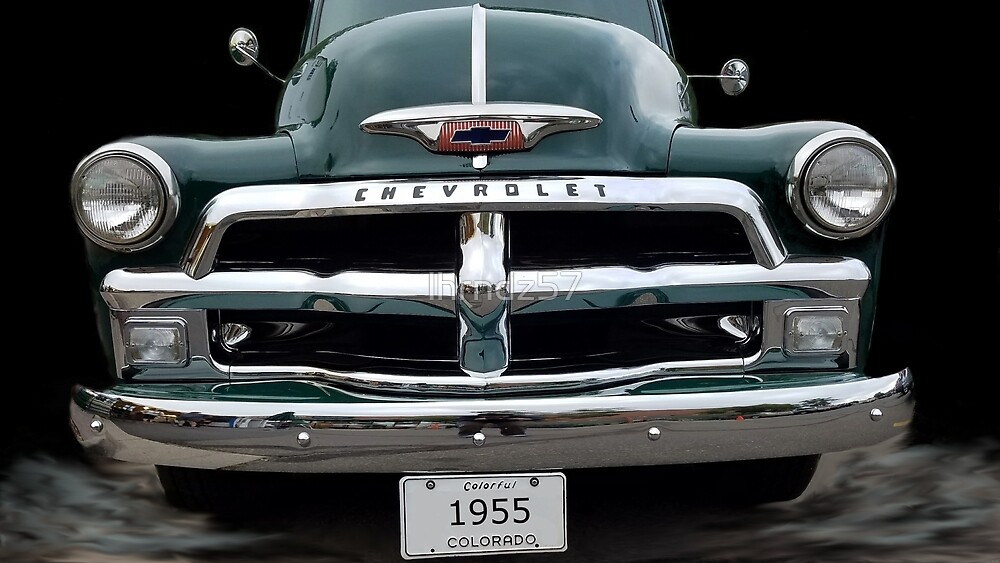 55 Chevy Truck by lhrndz57